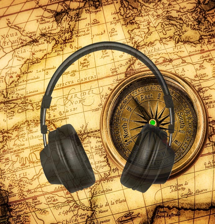 Ancient World Map | History Audio CDs Diana Waring