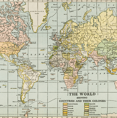 World map | History Revealed World History Curriculum by Diana Waring