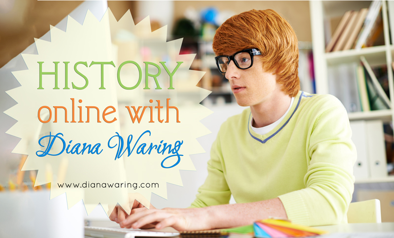 Online History Class with Diana Waring